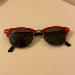 Red Ray-bans